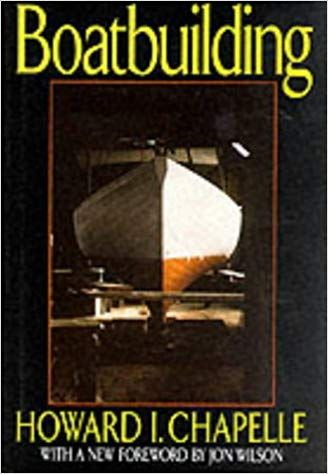 chapell boatbuilding, book cover.