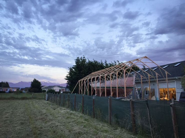The Shed in construction 20170626